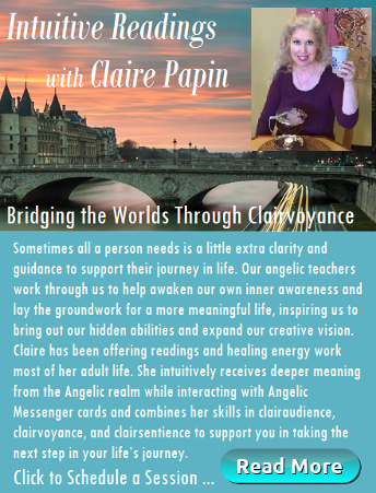Intuitive Radings with Claire Papin link ad